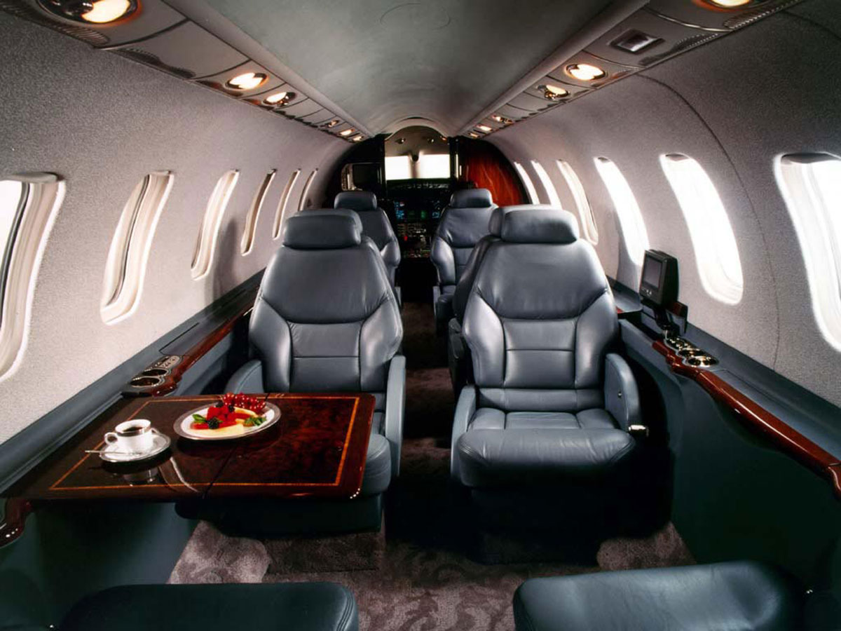 Learjet 45 Private Air Charter Asia Corporate Travel